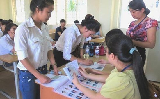 Hôm nay (14/7), hơn 200.000 thí sinh làm thủ tục dự thi Cao đẳng