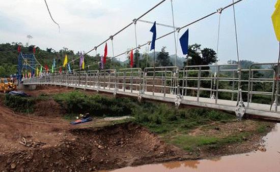 Bộ GTVT: Đẩy nhanh tiến độ xây dựng các dự án cầu treo dân sinh