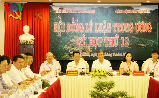 Kỳ họp thứ 12 Hội đồng Lý luận Trung ương tại Ninh Bình