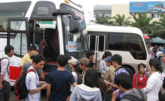 TP.HCM: Xe khách phụ thu thêm 30% giá vé dịp Quốc khánh 2/9