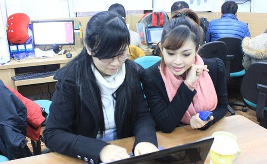 """Giao lưu trực tuyến với MC """"Trà chanh"""" Thùy Linh"""