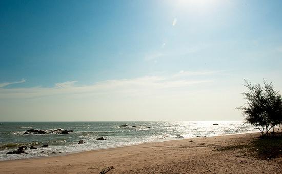 Hoang sơ vẻ đẹp biển Hồ Tràm