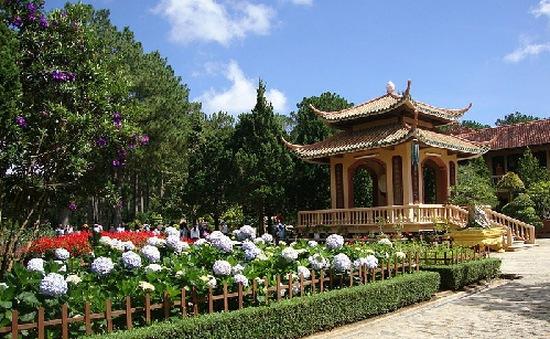Phút tĩnh tâm ở Thiền viện Trúc Lâm Đà Lạt