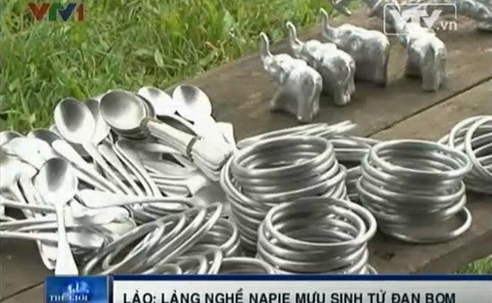 Thăm Napie – làng nghề mưu sinh từ đạn bom