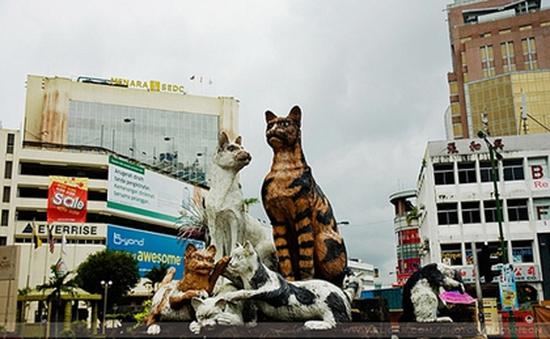 """Sức hấp dẫn của """"thành phố mèo"""" Kuching, Malaysia"""