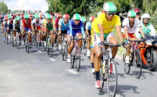 Kết thúc giải đua xe đạp về nông thôn An Giang 2014