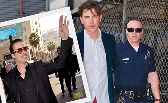 Brad Pitt bất ngờ bị đấm trong lễ công chiếu phim của Angelina Jolie