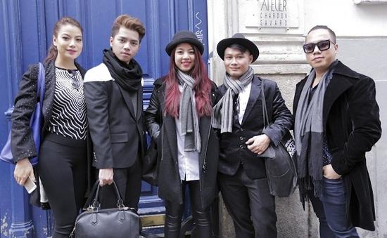 Chung kết Project Runway Vietnam 2014: Top 3 lấy cảm hứng cho BST từ Paris