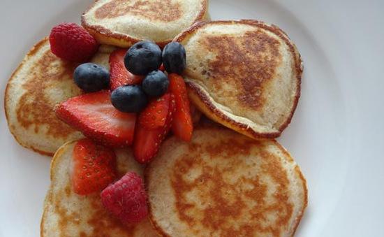 15 phút cho pancakes - một bữa sáng lạ miệng