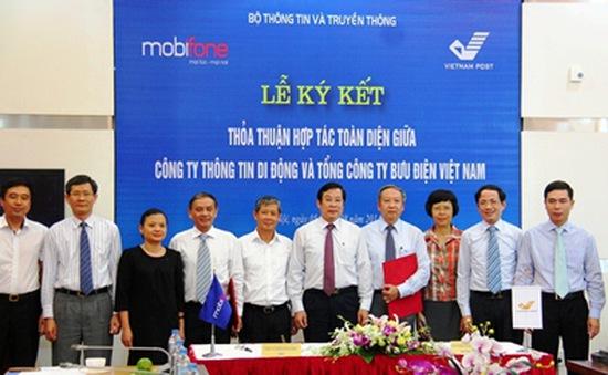 MobiFone và Vietnam Post ký kết thỏa thuận hợp tác toàn diện