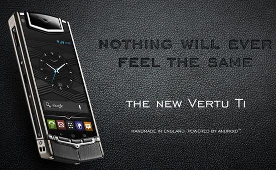 Chiêm ngưỡng smartphone Android đầu tiên của Vertu