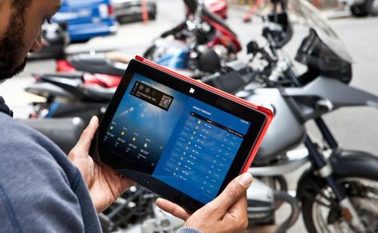Tăng độ nhạy cảm ứng cho màn hình Surface RT