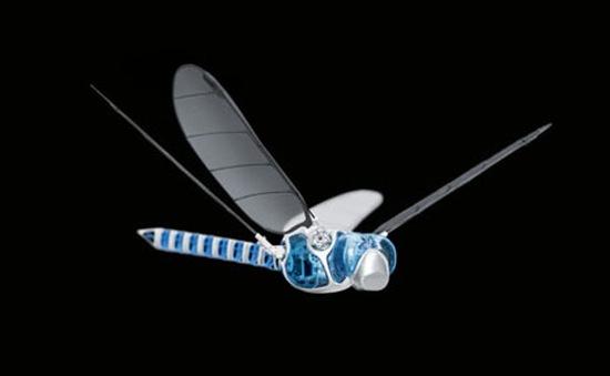 Robot chuồn chuồn cử động linh hoạt như thật