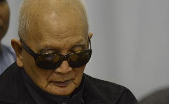 Các cựu thủ lĩnh Khmer Đỏ xin lỗi gia đình nạn nhân