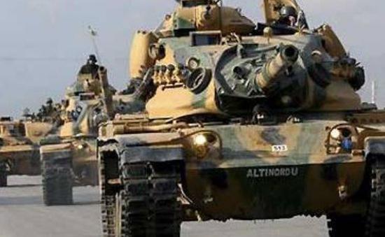 Thổ Nhĩ Kỳ tăng cường lực lượng giáp biên giới Syria