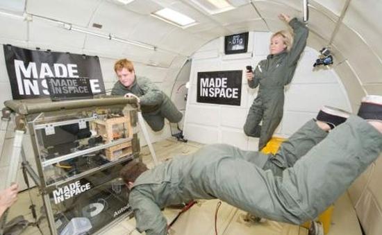 NASA đưa máy in 3D vào vũ trụ