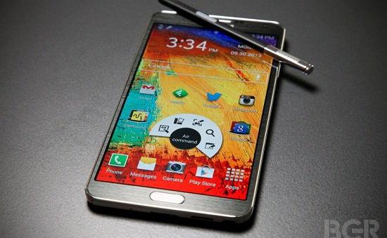 Galaxy Note III - phablet thành công nhất của Samsung