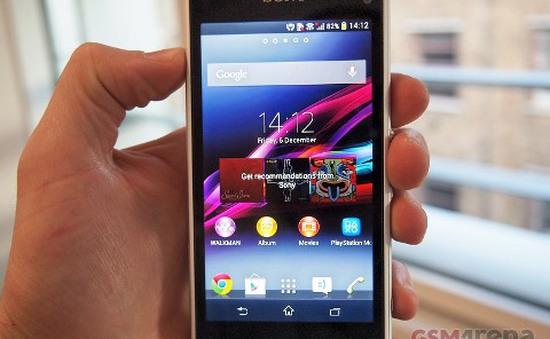 Xperia Z1 Compact: Đối thủ mới của iPhone 5S