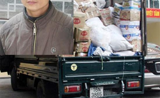Công an Hải Phòng bắt giữ trên 4 tấn mì chính giả