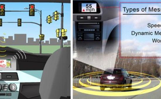 Ô tô thông minh giao tiếp được với các xe khác