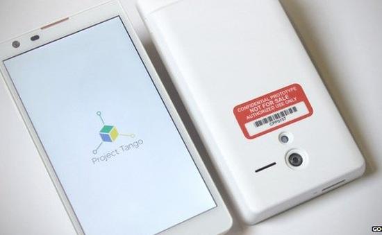 Google phát triển mẫu smartphone cảm biến 3D