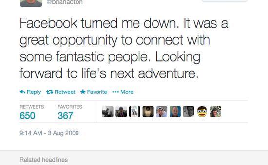 Đồng sáng lập WhatsApp từng thất bại khi xin việc tại Facebook