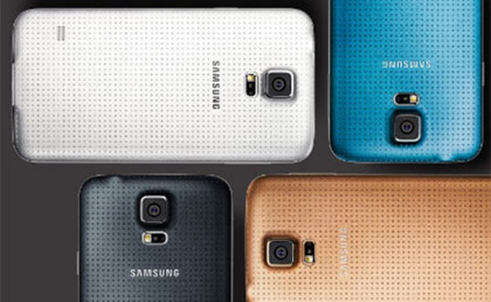 Smartphone tốt nhất tại MWC 2014: Galaxy S5