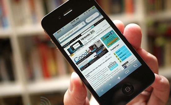 Truy cập Internet bằng thiết bị di động vượt desktop