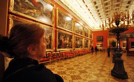 Bảo tàng Hermitage sử dụng công nghệ bí mật bảo vệ hiện vật