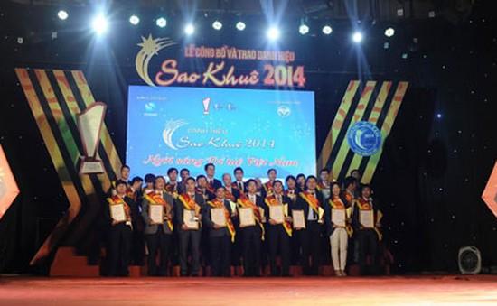 Trao giải Sao khuê 2014: Vinh danh 70 sản phẩm xuất sắc