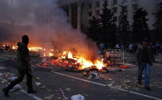 """Đức kêu gọi không """"đổ thêm dầu vào lửa"""" sau vụ đụng độ ở Odessa"""