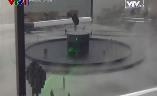 Khám phá máy hút bụi lớn nhất thế giới