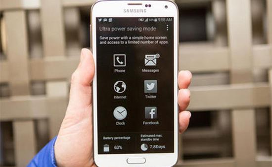 4 cách để cái thiện tuổi thọ pin trên Galaxy S5