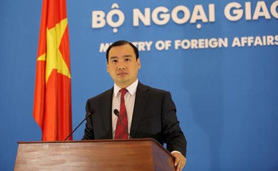 Bộ Ngoại giao: Việt Nam mong muốn Thái Lan sớm ổn định tình hình