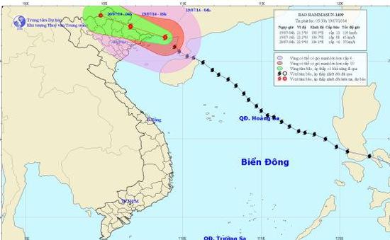 Bão số 2 đã trực tiếp ảnh hưởng tới tỉnh Quảng Ninh