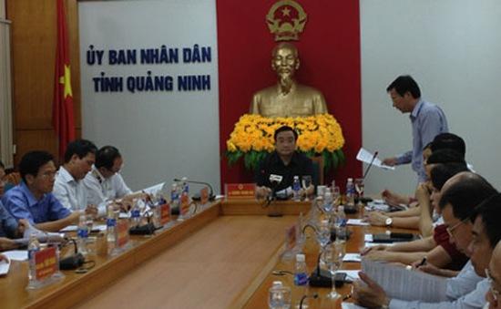 Phó Thủ tướng Hoàng Trung Hải kiểm tra  công tác ứng phó bão tại Quảng Ninh