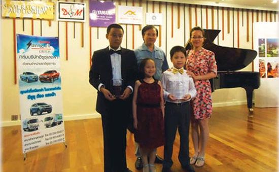 Thí sinh Việt Nam đoạt giải cao tại cuộc thi piano Mozart
