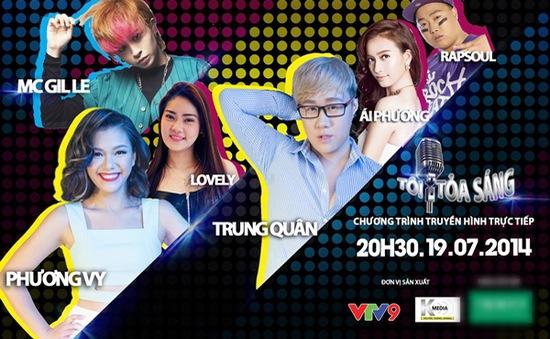 """VTV Online tặng 10 vé xem chương trình """"Tôi tỏa sáng"""" (19/7)"""