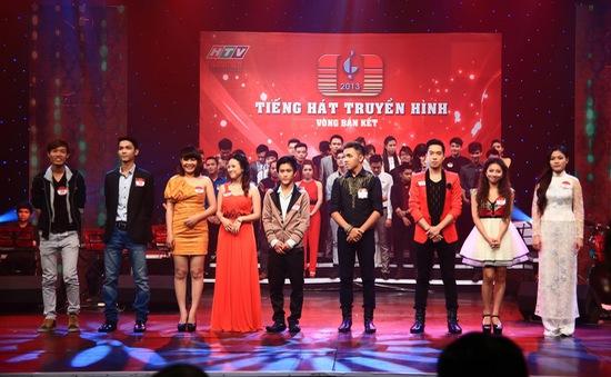 Bán kết Tiếng hát truyền hình 2013: Nhiều gương mặt quen thuộc