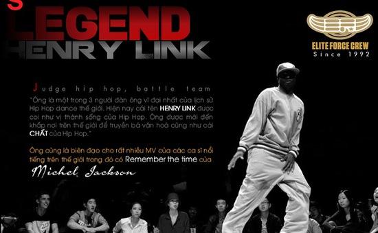 Thần tượng Hip Hop thế giới Henry Link lần đầu tiên đến Việt Nam