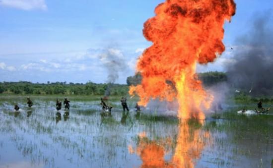 """Hình ảnh thời chiến hào hùng trong """"Huyền thoại 1C"""""""