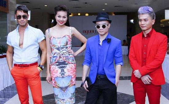 Thanh Hằng nổi bật giữa dàn thí sinh VN's Next Top Model