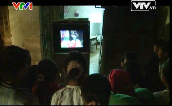 Khán giả Khau Vai - Hà Giang: Không thể thiếu truyền hình