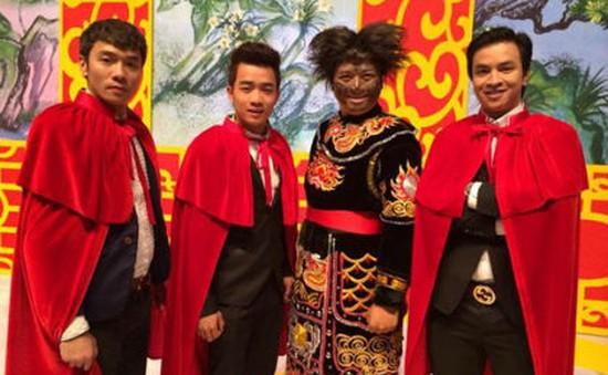 Táo quân 2014: Thiếu máu, nhạc sỹ Tiến Minh vẫn hết mình với Thiên Lôi