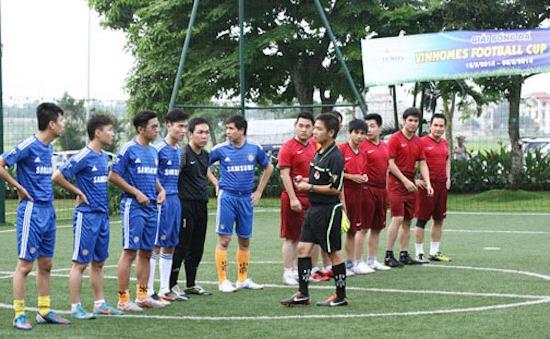 Sôi động giải bóng đá Vinhomes Football Cup 2014