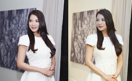 Sau ly hôn, Trương Ngọc Ánh rạng rỡ giới thiệu trailer phim Hương ga