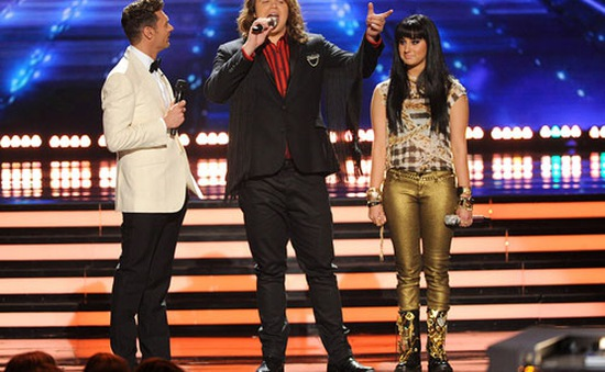Chàng trai tóc dài đăng quang American Idol 2014