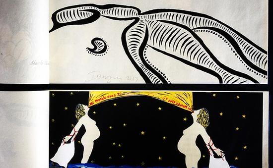 Culture Mosaic: Gặp gỡ họa sĩ Steven Daiber (21h30, 21/3, VTV6)