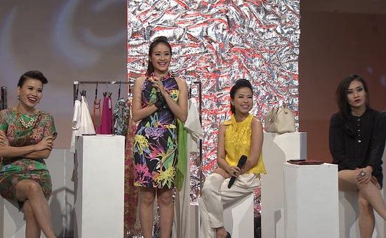 Xưởng thời trang: NTK Hà Linh Thư, Helen Hoài và Tiffany Đặng đua tài (22h30, VTV6)