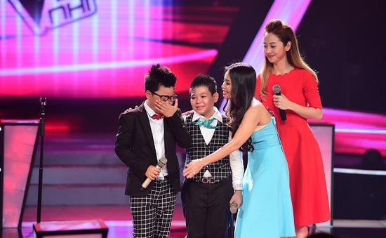 21h, VTV3: Giọng hát Việt nhí 2014 - Tập cuối vòng Đối đấu